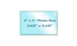 "3"" x 5"" Photo Size Cold Laminating Pouches"