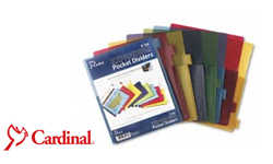 Cardinal Binder Pocket Dividers