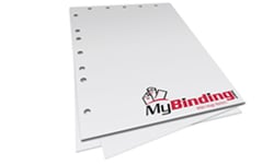 12 Hole Pre-Punched Paper