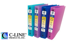 C-Line Ring Binders and Accessories