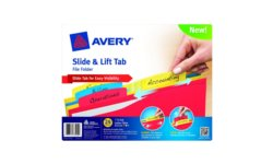 Avery Slide & Lift Tab File Folders