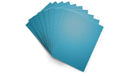 Celestial Blue Pre-Punched Paper