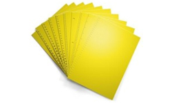 Goldenrod Pre-Punched Binding Paper