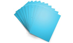 Lunar Blue Pre-Punched Paper