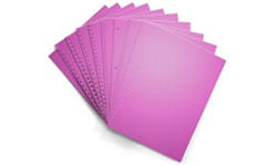 Planetary Purple Pre-Punched Paper