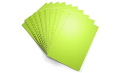 Vulcan Green Pre-Punched Paper