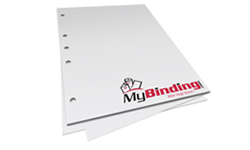 5 Hole Left Pre-Punched Binding Paper