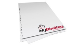 28lb Pre-Punched Binding Paper