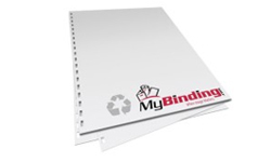 Recycled Pre-Punched Binding Paper