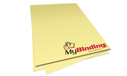 Buff Unpunched Binding Paper