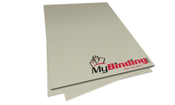 Gray Unpunched Binding Paper