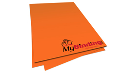 Orbit Orange Unpunched Paper