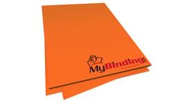 Orbit Orange Unpunched Paper