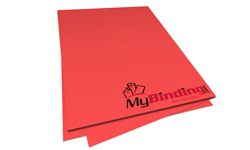 Rocket Red Unpunched Paper