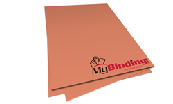 Salmon Unpunched Binding Paper