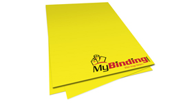 Solar Yellow Unpunched Paper