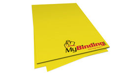 Sunburst Yellow Unpunched Paper