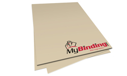Tan Unpunched Binding Paper