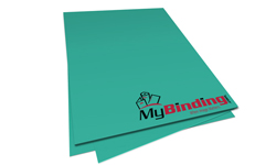Terrestrial Teal Unpunched Paper
