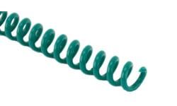 Green Spiral Binding Coil