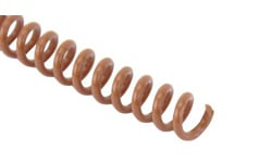 Light Brown Spiral Binding Coil