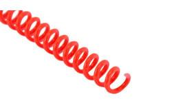 Neon Orange Spiral Binding Coil