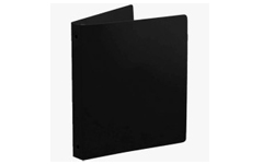 Black Poly Ring Binders