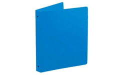 Colonial Blue Poly Ring Binders