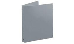 Gray Poly Ring Binders