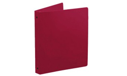 Maroon Poly Ring Binders
