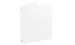 White Poly Ring Binders
