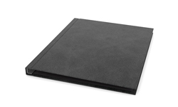 Channel Binding Executive Suede Hard Covers