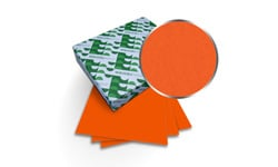Orbit Orange Astrobrights Covers
