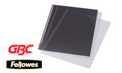 Premium Clear Binding Covers