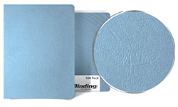 Ocean Blue Grain Binding Covers