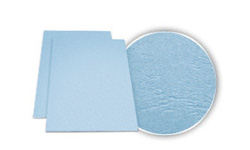 GBC Sky Blue Grain Covers
