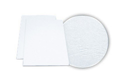 White Grain Embossed Covers