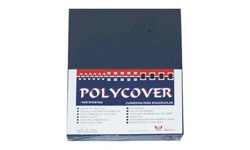 Navy Leather Poly Binding Covers