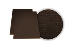Brown Linen Weave Covers