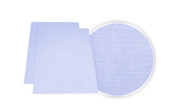 Light Blue Linen Weave Binding Covers