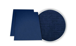 Navy Blue Linen Weave Covers