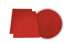 Red Linen Weave Binding Covers