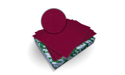 Burgundy Royal Linen Covers
