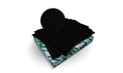 Eclipse Black Royal Linen Covers