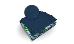 Midnight Blue Royal Linen Binding Covers