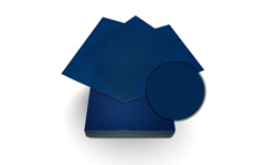 Blue Sand Poly Binding Covers