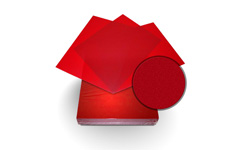 Red Sand Poly Binding Covers