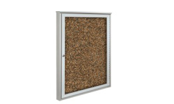 Outdoor Enclosed Rubber Bulletin Boards