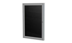 1-Door Outdoor Enclosed Letterboards