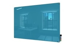 Blue Magnetic Glass Whiteboards